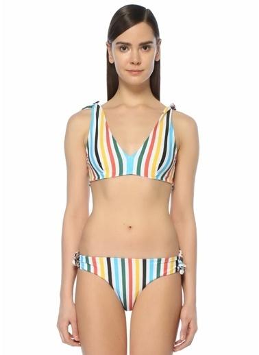 RYE Üçgen Bikini Üstü Renkli